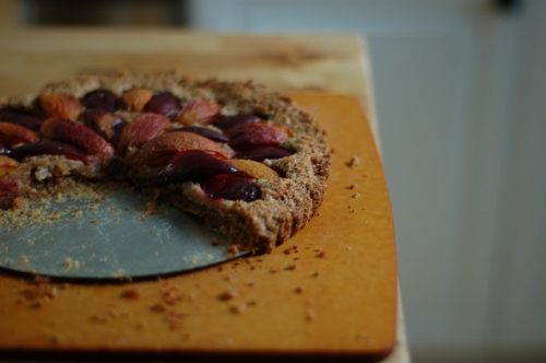 Plum Nectarine Almond Tart. An easy dessert for the cusp of fall. From Blossom to Stem | Because Delicious www.blossomtostem.net