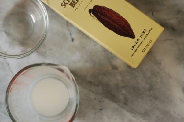Cocoa Nib Semifreddo. An easy and elegant dessert. Blossom to Stem | Because Delicious www.blossomtostem.net